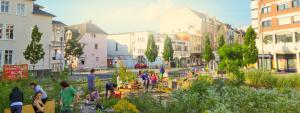 Urbanes Gärtnern Urbane Gärten urban gardening in Gießen Stadtgarten
