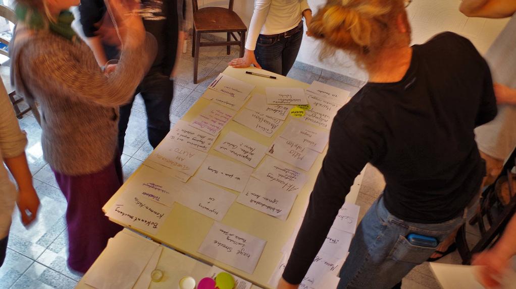 Workshop zur Verbesserung der Critical Mass Gießen